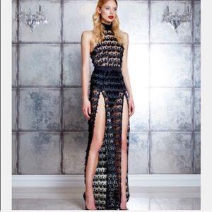 Zhivago Dresses - Zhivago Mere Mortal Slit Dress Gown